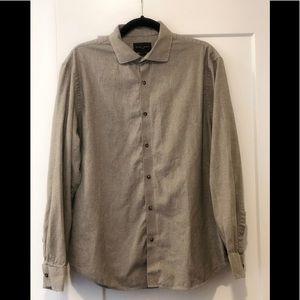 Black Brown 1826 button down shirt